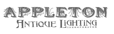 Offered by Appleton Antique Lighting