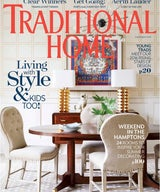 Traditional Home Magazine 2016 Rising Star of Interior Design New Trad