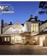 "Michigan Lake House wins ""One of a Kind Custom or Spec Home"" Award"