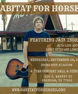 A NIGHT WITH JACK INGRAM AND HABITAT FOR HORSES