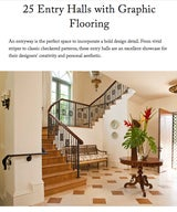 25 Entry Halls with Graphic Flooring