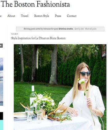 Style Inspiration for Le Diner en Blanc Boston