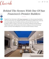 Behind The Scenes With One Of San Francisco's Premier Builders
