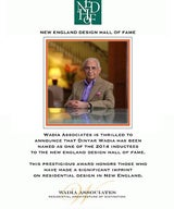 Dinyar Wadia Inducted into the New England Design Hall of Fame
