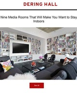 Nine Media Rooms That Will Make You Want to Stay Indoors