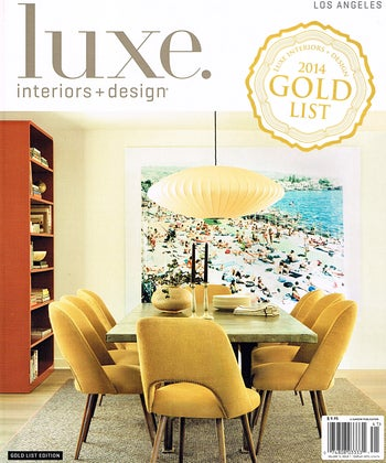 Luxe 2014 Gold List