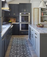 SPACES: A Kitchen in Shades of Black and Gray