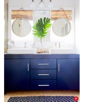 MyDomaine Featuring the Palos Verdes Project's Bathroom Renovation