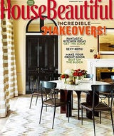 Brett Design Ombré Wallpaper in House Beautiful
