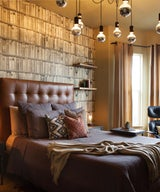 Room of the Day: An Eclectic Bedroom With an Edgy Vibe