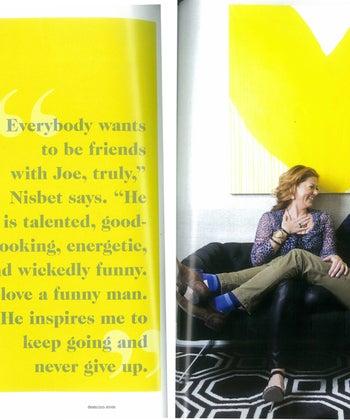 Amanda Nisbet + Joe Lucas in the 2015 Winter Issue of Domino Magazine