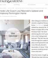 Step Inside Life Coach Lisa Nkonoki's Upbeat and Contemporary Farmington Home