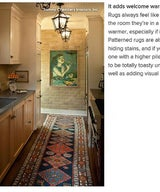 Houzz: Spotted! Rugs Take the Floor in Kitchens