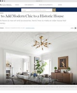 How To Add Modern Chic To A Historic House