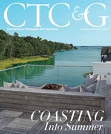 Tim Button's latest project in Greenwich, CT, is the cover story of the June issue of CTC&G