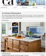 California Home + Design: A Culinary Masterpiece