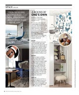 Fall 2016 Interior Trends for Boston Common Magazine: Updating Your Home Office