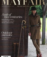 As seen in Mayfair Magazine