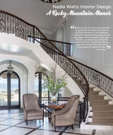 Nadia Watts Interior Design: A Rocky Mountain Manor