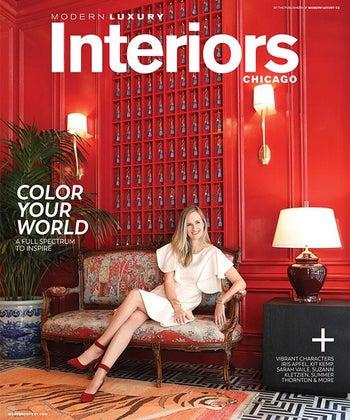 Modern Luxury - Summer Thornton on the Cover