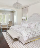Dreamy Bedrooms In Wintery Whites & Ivory