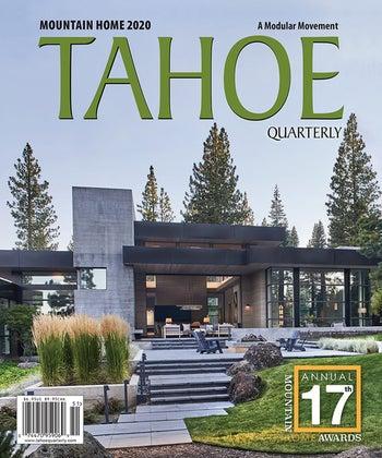 Tahoe Quarterly Magazine 2020 High Desert Mountain Home Award