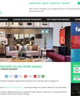 Best Interior Designers in the USA: Peter Sandel