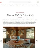 Rooms With Striking Rugs