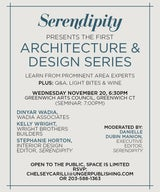 Dinyar Wadia on Panel of Serendipity Magazine's first ever Architecture & Design Series Seminar
