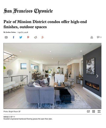 Pair of Mission District Condos offer high-end finishes, outdoor spaces