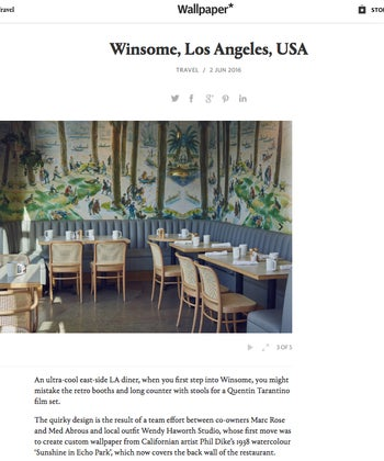 Winsome, Los Angeles