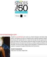 New York Spaces Top 50 Designer 2017