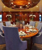 Step Inside the Bespoke Inerior of the M/Y Bread Luxury Yacht by Annie Santulli Designs
