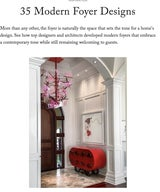 35 modern foyer designs