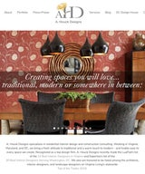 A. Houck Designs Launches Mobile-Friendly Website and New Service