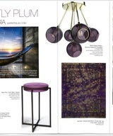 PLUM MELANGE FOR EAST COAST Home + Design