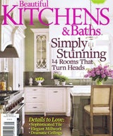 beautiful kitchens + baths, soothing contrasts