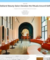 GetClever by Architectural Digest Features HOMEWORK on their Oakland Commercial Project