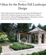9 Ideas for the Perfect Fall Landscape Design
