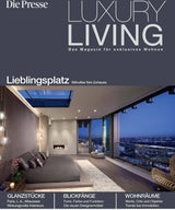 Landry Design Group Featured On Cover Of Luxury Living Magazine by Die Presse