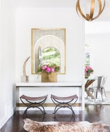 Home Tour: How to Rock Not One but Two Pink Sofas in Your Home
