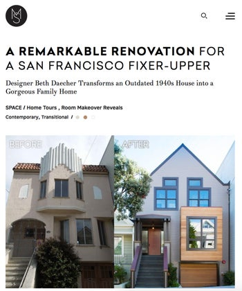 A Remarkable Renovation For a San Francisco Fixer-Upper