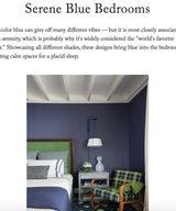 Serene Blue Bedrooms