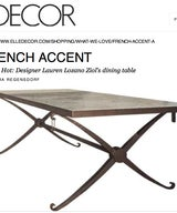 French 40s Dining Table