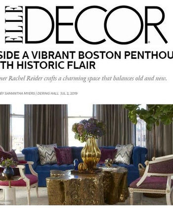 Inside a Vibrant Boston Penthouse with Historic Flair