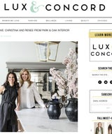 WOMEN WE LOVE: CHRISTINA AND RENEE FROM PARK & OAK INTERIOR DESIGN