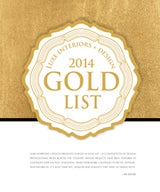 Luxe Interiors + Design 2014 Gold List