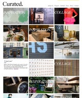 Curated.'s magazine blog JOURNAL