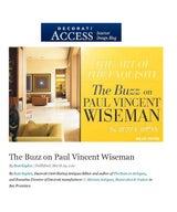 Decorati Access: The Buzz on Paul Vincent Wiseman