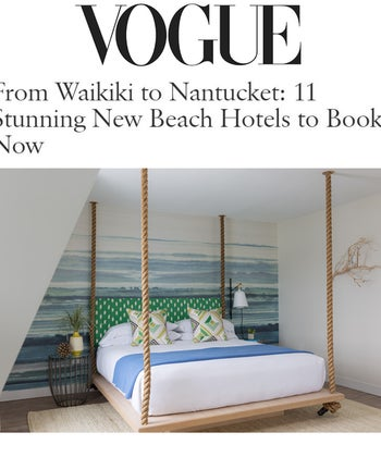 From Waikiki to Nantucket: 11 Stunning New Beach Hotels to Book Now